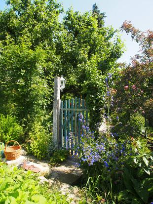 Eingang zum Gartenparadies