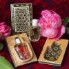 Intarsienbox aus Persien mit 3 ml echtem Bio Rosenöl