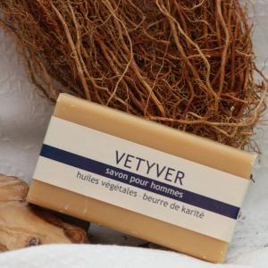 Vetiver - französische Seife (100g)