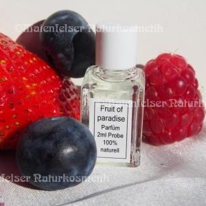 """Eau de Parfum """"Fruit of Paradise"""" Probe (2 ml)"""