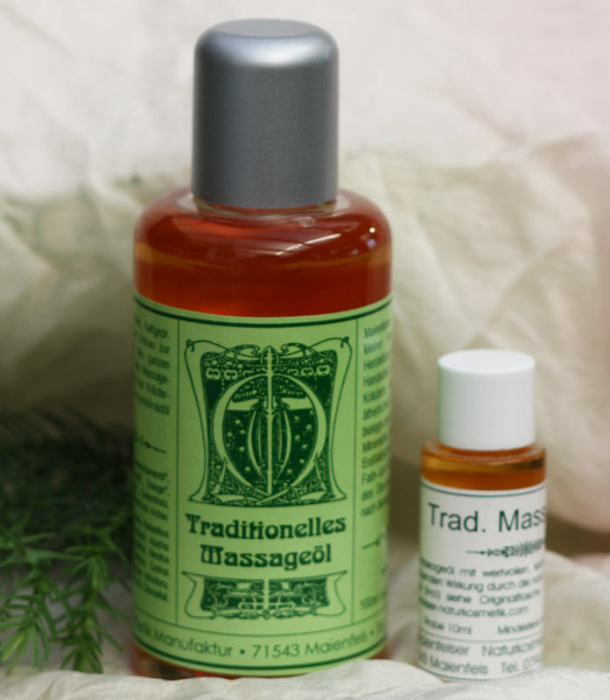 Traditionelles Massageöl Probiergröße (10 ml)