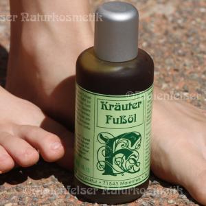 Kräuter-Fußöl