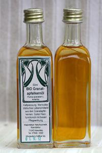 Granatapfelkernöl pur CO2 BIO