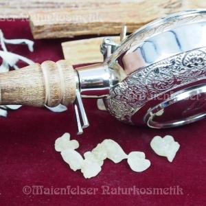 Räucherpfanne zum tragen Silber