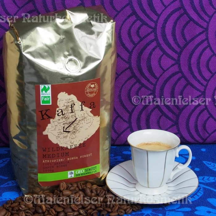 Bio Wildkaffee medium ganze Bohne 1kg