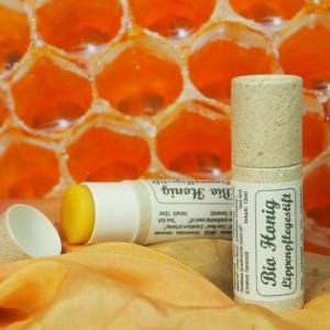 Lippenbalm Bio Honig 12ml  |  Neues Format  | +80% mehr...