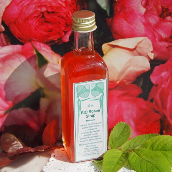 Rosensirup (60 ml)